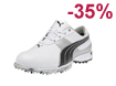 Puma 2013 Spark Sport 2 Golfskor Vit vart EUR 43