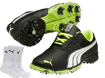 Puma 2014 Bio Fusion LT Chaussures Golf Noir EUR 44.5 with FREE Chaussettes