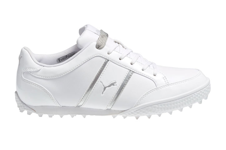 Puma (uk 4) Monolite Cat Ladies Golf Shoes White - Golf ...