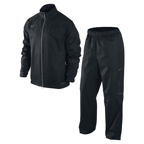 Nike 2011 Packable Rain Suit Black L