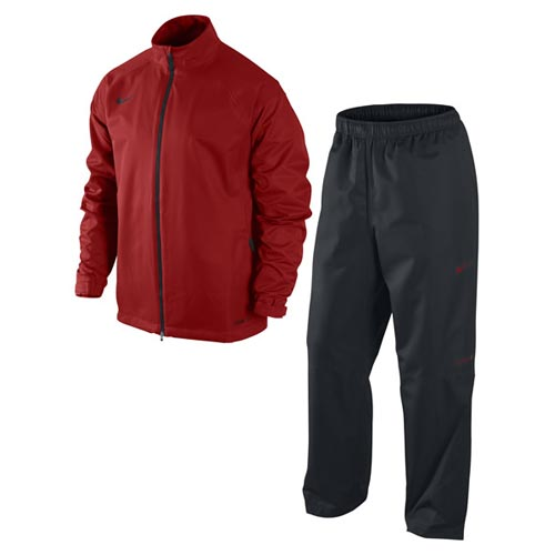 Nike 2011 Packable Rain Suit University Red M