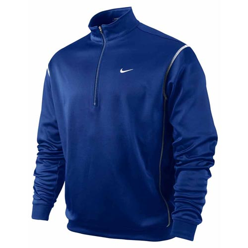 Nike 2011 1/2 Zip Therma-Fit Cover Up Collage Navy XL