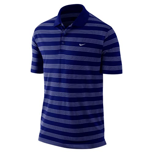 Nike 2012 Tech Stripe Polo LC Collage Navy White S