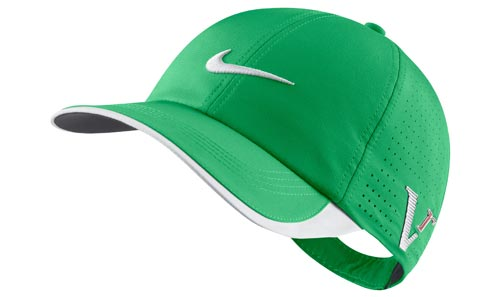 Nike 2012 Tour Preforated Cap Gym Green