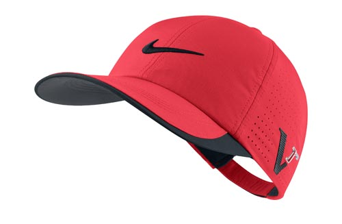 Nike 2012 Tour Preforated Cap Action Red