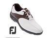 FootJoy 2013 GreenJoys Golf Shoes White Brown UK 10.5