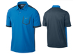 Nike SS2013 Lightweight Colorblock Polo Photo Blue L