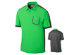Nike SS2013 Lightweight Colorblock Polo Poison Green L