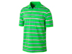Nike SS2013 Stretch UV Stripe Polo Poison Green M