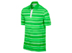 Nike SS2013 Bold Stripe Polo Poison Green L