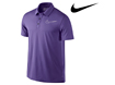 Nike SS2013 Sport Swoosh Polo Purple L