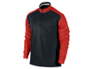 Nike AW2013 Dri-Fit 1/2 Zip Cover Up Sweater Gamma Orange L