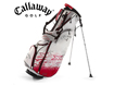 Callaway 2013 X Series Midi Pencil Stand Bag Red with FREE Callaway Towel
