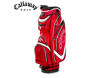 Callaway 2013 Euro Chev Cart Bag Red with FREE Callaway Towel