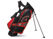 Callaway 2014 Hyper-Lite 3 Stand Bag Schwarz Charcoal Rot with FREE Handtuch