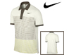 Nike SS2012 Sport Stripe Pocket Polo Sail Green M