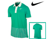 Nike SS2012 Sport Stripe Pocket Polo Teal Sail M