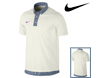 Nike SS2013 Sport Gingham Novelty Polo Sail L
