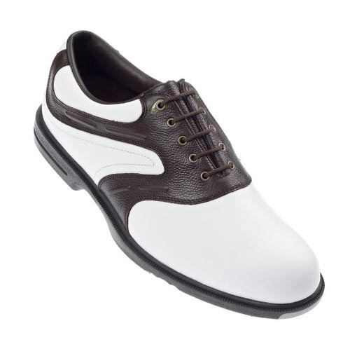 FootJoy 2012 AQL White Dark Brown UK 8