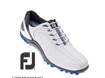 FootJoy 2013 Sport Spikeless Golf Shoes White Blue UK 9.5
