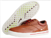 Nike 2014  Lunar Swingtip Golf Shoes Brown UK 8.5