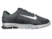 Nike 2013 Air Range WP II Golf Shoe Dark Grey Metallic Silver UK 8