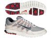 Nike 2013 Air Range WP II Golf Shoes Wolf Grey White UK 8
