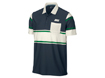 Nike AW13 Sport Novelty Stripe Polo Armory Navy L