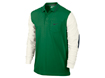 Nike AW13 Sport Novelty LS Warm Polo Pine Green M