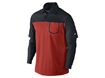 Nike Aw2013 Performance Colourblock L/S Polo Black Red M