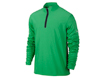 Nike AW2013 1/2 Zip Banded Tech Cover Up Sweater Gamma Green M