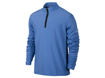 Nike AW2013 1/2 Zip Banded Tech Cover Up Sweater Distance Blue L