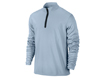 Nike AW2013 1/2 Zip Banded Tech Cover Up Sweater Armory Blue XL