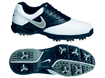 Nike 2014 Heritage III Golf Shoes White Black UK 10.5