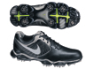 Nike 2013 Lunar Control II Golf Shoe Black Silver UK 9