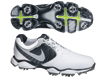 Nike 2013 Lunar Control II Golf Shoe White Silver UK 10