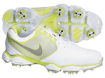 Nike 2014 Lunar Control II Golf Shoes White Volt UK 7.5