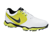 Nike 2014 Lunar Control II Golf Shoe White Black Venom Green UK 11