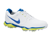 Nike 2014 Lunar Control II Golf Shoes White Blue UK 11