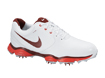 Nike 2014 Lunar Control II Golf Shoes White Red UK 11