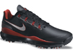 Nike 2014 Tiger Woods TW14 Golf Shoes Black UK 9.5