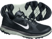 Nike 2014 FI Impact Golf Shoes Black Silver UK 9