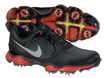 Nike 2014 Lunar Control II SL Golf Shoes Black UK 9.5