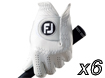 FootJoy Pure Touch Glove M x6