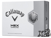 Callaway 2012 HX Chrome x2