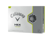Callaway 2013 HEX Chrome Yellow Golf Ball