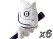 FootJoy 2014 WeatherSof Glove M x6