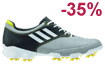 adidas 2013 adiZero Tour Golf Shoes Grey White UK 9