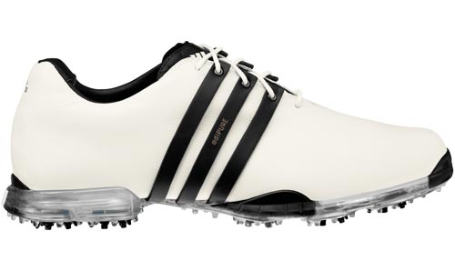 Adidas 2012 adiPURE Tour White Black UK 8
