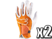 Puma 2013 Performance Glove Vibrant Orange ML x2